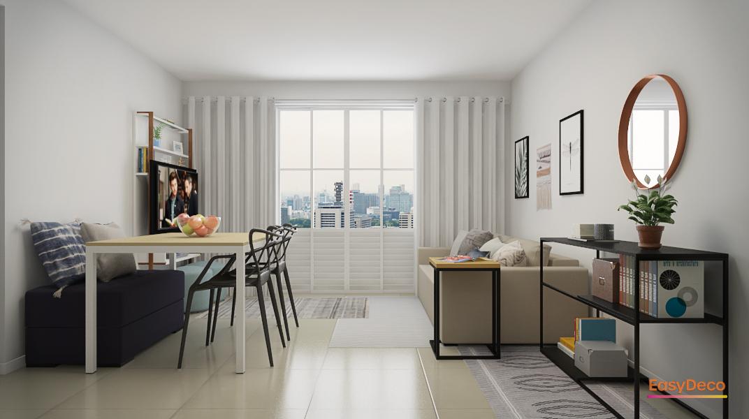 sala-pequena-com-paredes-brancas-e-moveis-claros